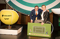 Rotterdam, Netherlands, 09 Februari, 2018, City Hall, Official Draw,   Esther Vergeer<br /> Photo: Tennisimages/Henk Koster
