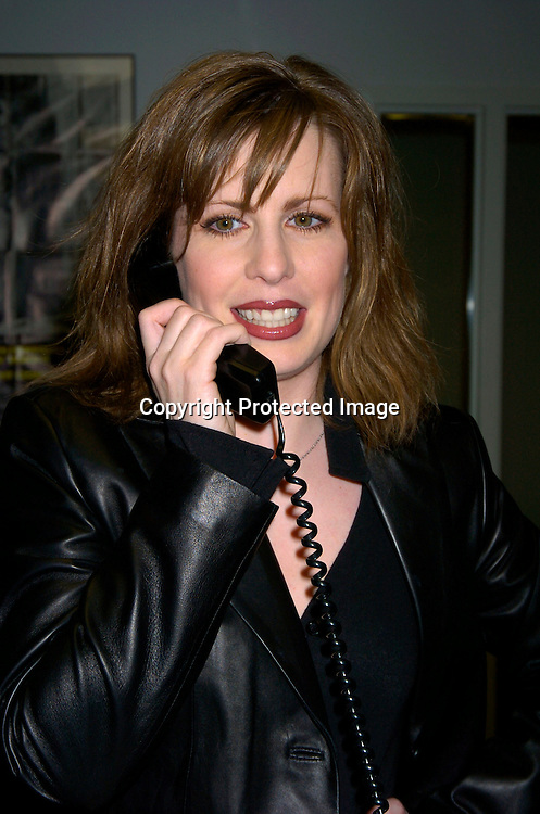 Martha Byrne ..at the Mayor's Office of Film, Theatre and Broadcasting ..on May 4, 2004 to pick a contest winner to go to the Daytime Emmy Awards on May 21, 2004 at Radio City Music Hall. Photo by Robin Platzer, Twin Images