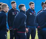 03.03.2020 Rangers training: Florian Kamberi and Borna Barisic