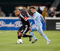 Bobby Convey, Robbie Russell.  Sporting KC defeated D.C. United, 1-0, at RFK Stadium in Washington, DC.