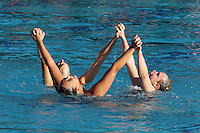 STANFORD, CA - FEBRUARY 7:  (L-R) Erin Bell, Debbie Chen, and Michelle Moore of the Stanford Cardinal during Stanford's 88-78 win against the Incarnate Word Cardinals on February 7, 2009 at Avery Aquatic Center in Stanford, California.
