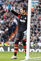 Real Madrid's Diego Lopez during La Liga match.March 02,2013. (ALTERPHOTOS/Acero) /NortePhoto