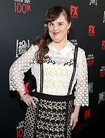"LOS ANGELES - OCTOBER 26: Jamie Brewer attends the red carpet event to celebrate 100 episodes of FX's ""American Horror Story"" at Hollywood Forever Cemetery on October 26, 2019 in Los Angeles, California. (Photo by John Salangsang/FX/PictureGroup)"