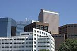 HI-RISE BUILDINGS DOWNTOWN DENVER