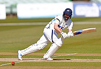 Adam Lyth bats for Yorkshire during Kent CCC vs Yorkshire CCC, LV Insurance County Championship Group 3 Cricket at The Spitfire Ground on 17th April 2021