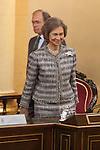 Former Queen Sofia of Spain attends the Inigo Alvrez de Toledo Awards ceremony at Senado in Madrid, Spain. October 27, 2014. (ALTERPHOTOS/Victor Blanco)