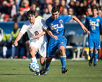 Cary, NC - December 14, 2014: Virginia won the NCAA Men's College Cup after drawing UCLA 0-0 and then winning penalty kicks 4-2 at WakeMed Soccer Park.