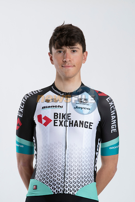 Kevin Colleoni (ITA) Team BikeExchange men's squad potrait, Spain. 22nd January 2021.<br /> Picture: Sara Cavallini/GreenEDGE Cycling | Cyclefile<br /> <br /> All photos usage must carry mandatory copyright credit (© Cyclefile | Sara Cavallini/GreenEDGE Cycling)