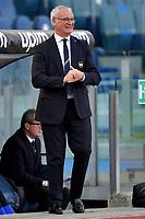 Simone Inzaghi coach of SS Lazio reacts during the Serie A football match between SS Lazio and UC Sampdoria at Olimpico Stadium in Roma (Italy), February 20th, 2021. Photo Antonietta Baldassarre / Insidefoto