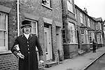 Hungerford Hocktide. Hungerford Berkshire England 1973.  <br />