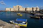Citadel of Qaitbay in port of Alexandria