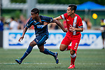 Newcastle United vs HKFA U-23 during the Day 2 of the HKFC Citibank Soccer Sevens 2014 on May 24, 2014 at the Hong Kong Football Club in Hong Kong, China. Photo by Victor Fraile / Power Sport Images