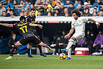 Marcelo Vieira Da Silva of Real Madrid during the match Real Madrid vs RCD Espanyol, a La Liga match at the Santiago Bernabeu Stadium on 18 February 2017 in Madrid, Spain. Photo by Diego Gonzalez Souto / Power Sport Images