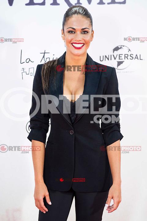 "Lara Alvarez during the premiere of the spanish film ""Un Monstruo Viene a Verme"" of J.A. Bayona at Teatro Real in Madrid. September 26, 2016. (ALTERPHOTOS/Borja B.Hojas) NORTEPHOTO.COM"
