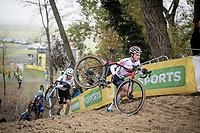 Ben Tullet (GBR/Corendon-Circus)<br /> <br /> U23 Men's Race<br /> UCI cyclocross WorldCup - Koksijde (Belgium)<br /> <br /> ©kramon