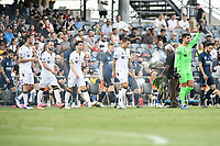 3rd January 2021; Campbelltown Stadium, Leumeah, New South Wales, Australia; A League Football, Macarthur FC versus Central Coast Mariners; Adam Federici of Macarthur FC acknowledges the crowd during a welcome to country leaf burning ceremony