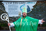 Happy St Patrick Day greetings from Cahersiveen from St Patrick 'Himself' aka Hugh Horgan.