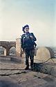 Iraq 2003.Amina Ahmed Mohamed, woman peshmerga, on the day of the liberation of Khanakin.Irak 2003.Amina Ahmed Mohamed, femme peshmerga, le jour de la liberation de la ville de Khanakin