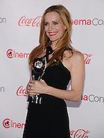 LAS VEGAS, NV - March 27: Comedy Star of the Year Award winner Leslie Mann at the CinemaCon Big Screen Achievement Awards on March 27, 2014 in Las Vegas, Nevada. © Kabik/ Starlitepics
