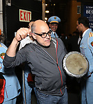 David Yazbek with the Alexandria Ceremonial Police Orchestra  during 'The Band's Visit'  Post-Show Jam celebrating the 10 Time Tony Award Winning Best Musical at the Barrymore Theatre on June 12, 2018 in New York City.