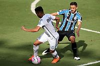 Santos (SP), 11.10.2020 - Santos-Grêmio - O jogador kaio jorge. Partida entre Santos e Grêmio valida pela 15. rodada do Campeonato Brasileiro neste domingo (11) no estadio da Vila Belmiro em Santos.