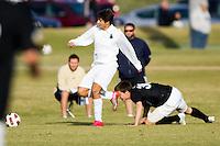 2010 US Soccer Development Academy Winter Showcase U17/18 St. Louis Scott Gallagher Missouri vs FC Greater Boston at Reach 11 Soccer Complex in Phoenix, Arizona in December of  2010.