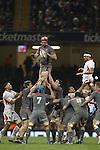 Luke Charteris<br /> Dove Men Series 2013<br /> Wales v Tonga<br /> Millennium Stadium - Cardiff<br /> 22.11.13<br /> ©Steve Pope-SPORTINGWALES