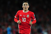 Harry Wilson of Wales during the UEFA Euro 2020 Qualifier match between Wales and Azerbaijan at the Cardiff City Stadium in Cardiff, Wales, UK. Friday 06, September 2019
