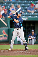 Corpus Christi Hooks third baseman J.D. Davis (26) at bat during a game against the Springfield Cardinals on May 30, 2017 at Hammons Field in Springfield, Missouri.  Springfield defeated Corpus Christi 4-3.  (Mike Janes/Four Seam Images)