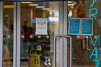Pictured: A general view of Primark in Swansea City Centre during the Covid-19 Coronavirus pandemic in Wales, UK, Swansea, Wales, UK. Monday 23 March 2020