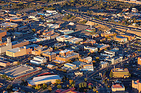 Pueblo, Colorado. Downtown aerial. Oct 2013