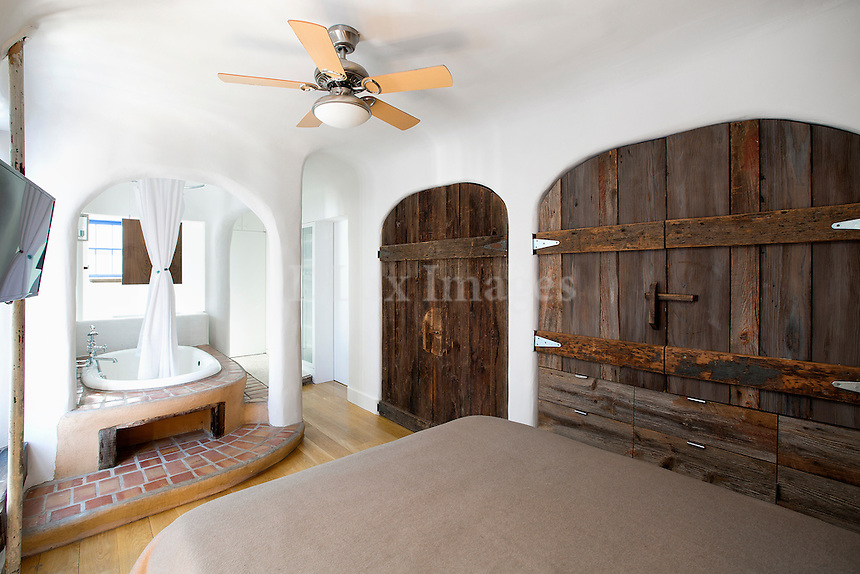 traditional wooden closet