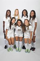 BERKELEY, CA - August, 7, 2016: Abigail Kim (17), Maggie Bell (14), Mia Corbin (3), Jordyn Elliott (30), Kayla Fong (13), Ana Gil (20), Avery Lakeman (11)