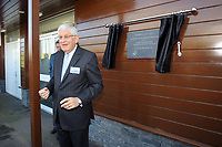 Pictured: Swansea University Vice Chancellor Richard B Davies Tuesday 04 April 2017<br /> Re: Official opening of the Fairwood Training Complex of Swansea City FC, Wales, UK