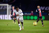 24th December 2020; Paris, France; French League 1 football, Paris St Germain versus Strasbourg;   BELLEGARDE Jean Ricner Strasbourg breaks forward on the ball