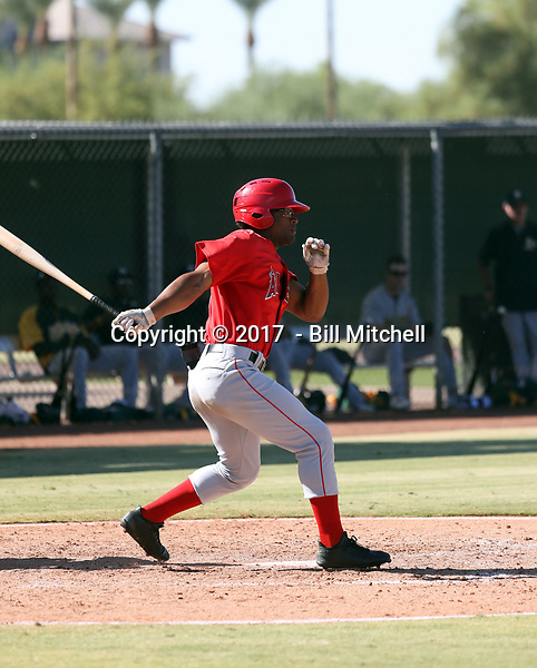 Caleb Scires - 2017 AIL Angels (Bill Mitchell)