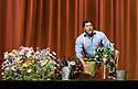 "English National Opera presents Giuseppe Verdi's ""La Traviata"", at the London Coliseum. Directed by ENO's new artistic director, Daniel Kramer. Picture shows: Lukhanyo Moyake (Alfredo Germont)."