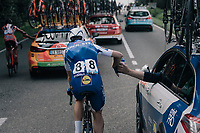 Julien Vermote (BEL/Quick-Step Floors) as human donkey<br /> <br /> 97th Brussels Cycling Classic (1.HC)<br /> 1 Day Race: Brussels > Brussels (201km)