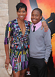 Regina King & son at the Columbia pictures L.A. Premiere of The Karate Kid held at The Mann Village Theatre in Westwood, California on June 07,2010                                                                               © 2010 Debbie VanStory / Hollywood Press Agency