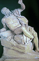 Rio de la Plata, Fountain of the Four Rivers, Rome Italy, Piazza Navona, designed by Bernini