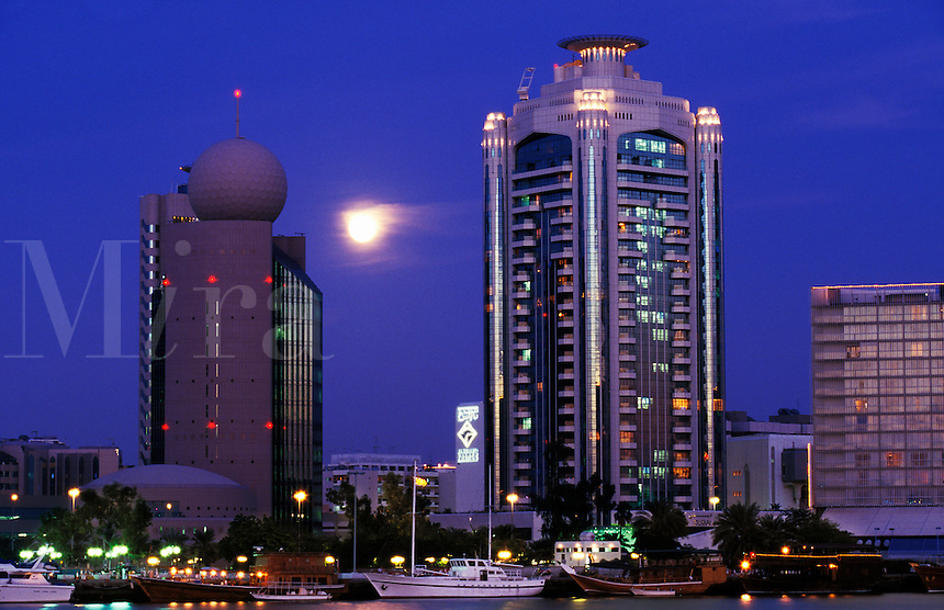 Creek Tower, Dubai Creek, Emirate, Etisalat Building Dubai