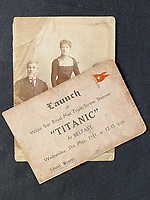 An incredibly-rare ticket for the launch event of the Titanic has emerged for sale for £20,000.