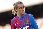 FC Barcelona's Antoine Griezmann during La Liga match. August 29, 2021. (ALTERPHOTOS/Acero)