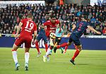 08.08.2019 FC Midtjylland v Rangers: Alfredo Morelos sets up Nikola Katic for his goal