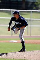 Eric Arnett - Milwaukee Brewers 2009 Instructional League. .Photo by:  Bill Mitchell/Four Seam Images..