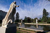 Spanien, Jardines de Sabatini beim Königspalast in Madrid