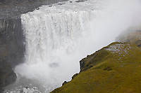 Dettifoss, Wasserfall auf Island, Wasserfall des Flusses Jökulsá á Fjöllum Gletscherfluß, Gletscherfluss, Jökulsárgljúfur-Nationalpark, Schlucht Jökulsárgljúfur, im Nordosten Islands, waterfall in the north of Iceland
