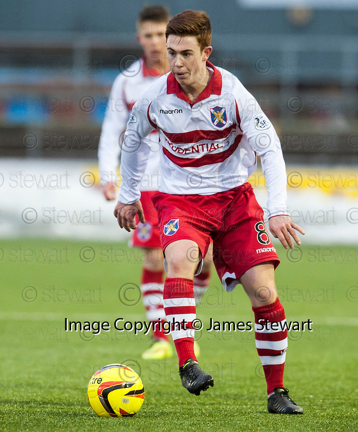 Stirling's Craig Comrie.