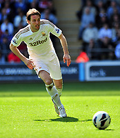 Pictured: Michu.<br /> Saturday 20 April 2013<br /> Re: Barclay's Premier League, Swansea City FC v Southampton at the Liberty Stadium, south Wales.