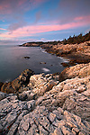 Aerial-like views await along the strenous Cliff Trail on the southwestern tip of Isle au Haut in Acadia National Park, Maine, USA